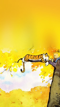 papers.co-ab20-wallpaper-calvin-and-hobbes-nap-illust-33-iphone6-wallpaper
