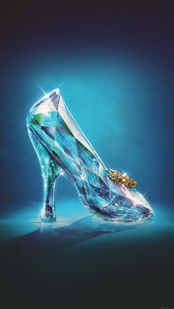 papers.co-ac04-wallpaper-cinderella-glass-slipper-shoes-illust-33-iphone6-wallpaper