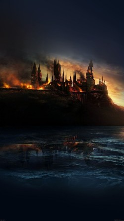 papers.co-ad55-city-castle-on-fire-art-33-iphone6-wallpaper