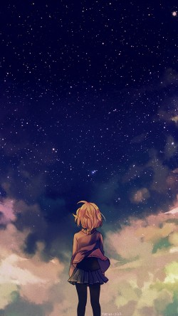 papers.co-ad65-starry-space-illust-anime-girl-33-iphone6-wallpaper