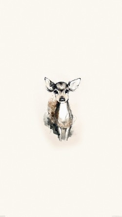 papers.co-ae07-tiny-deer-illust-art-33-iphone6-wallpaper