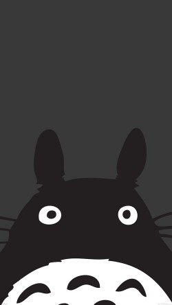 papers.co-af44-totoro-minimal-art-33-iphone6-wallpaper