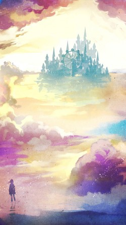 papers.co-ag06-kanehiko-fantasy-illust-watercolor-art-33-iphone6-wallpaper