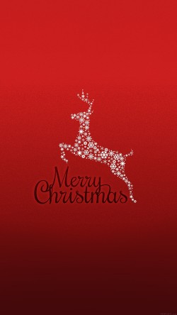 papers.co-ag33-merry-christmas-rudolf-art-33-iphone6-wallpaper