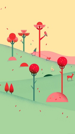 papers.co-ag93-google-lollipop-september-fall-mountain-animals-33-iphone6-wallpaper