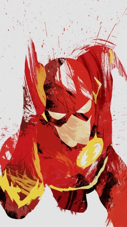 papers.co-ah41-flash-speed-hero-illust-minimal-art-33-iphone6-wallpaper