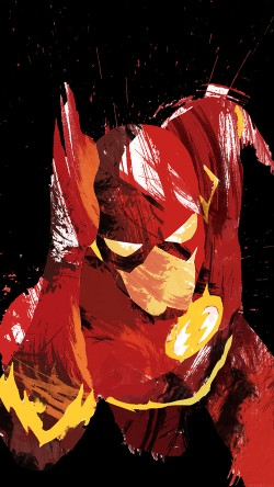 papers.co-ah42-flash-speed-dark-hero-illust-minimal-art-33-iphone6-wallpaper