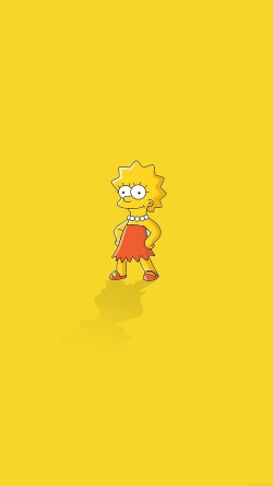 papers.co-ah61-lisa-simpson-minimal-simple-illust-cartoon-33-iphone6-wallpaper