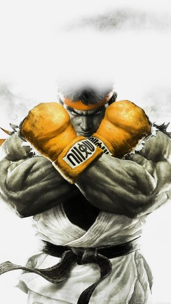 papers.co-ah70-street-fighter-gold-ryu-art-illust-game-33-iphone6-wallpaper