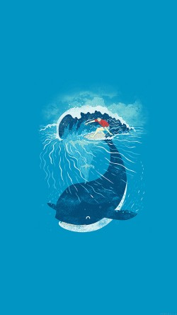 papers.co-ah84-whale-wave-animal-illust-art-sea-33-iphone6-wallpaper