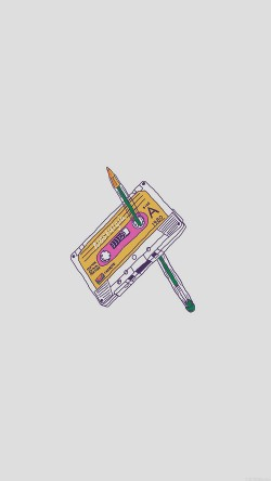 papers.co-ah98-cassette-tape-old-illust-minimal-33-iphone6-wallpaper