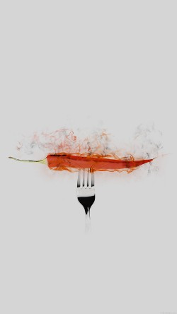 papers.co-ai17-pepper-red-hot-food-art-white-33-iphone6-wallpaper