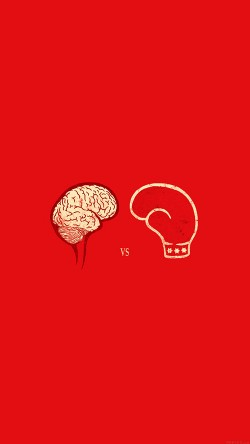 papers.co-ai22-brain-vs-boxing-illust-minimal-art-33-iphone6-wallpaper