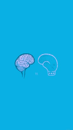 papers.co-ai24-brain-vs-boxing-illust-blue-minimal-art-33-iphone6-wallpaper