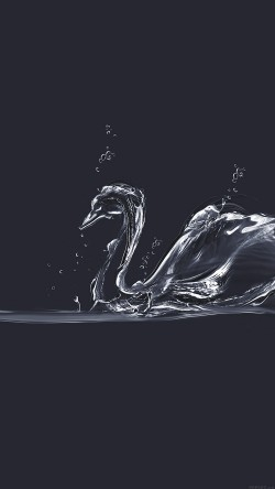 papers.co-ai38-water-swan-blue-drop-art-illust-33-iphone6-wallpaper