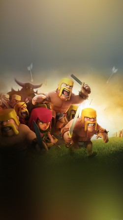 papers.co-ak27-clash-of-clans-war-game-art-illust-cute-33-iphone6-wallpaper