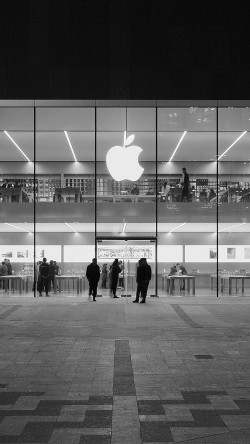 papers.co-ak40-apple-store-front-bw-dark-architecture-city-33-iphone6-wallpaper