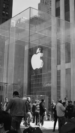 papers.co-ak49-apple-shop-newyork-dark-bw-cartier-city-33-iphone6-wallpaper