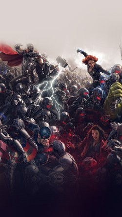 papers.co-al92-avengers-marvel-hero-ultron-super-fight-art-33-iphone6-wallpaper