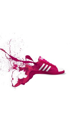 papers.co-am06-adidas-red-shoes-sneakers-logo-art-splash-33-iphone6-wallpaper