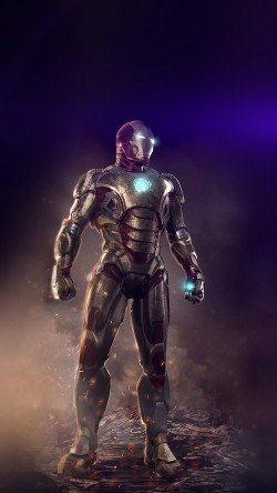 papers.co-an14-ironman-hero-marvel-art-illust-flare-33-iphone6-wallpaper
