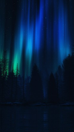 papers.co-ao04-aurora-night-sky-dark-blue-nature-art-33-iphone6-wallpaper
