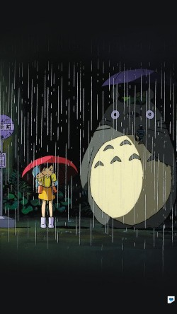 papers.co-ao63-my-neighbor-totoro-art-illust-rain-anime-33-iphone6-wallpaper