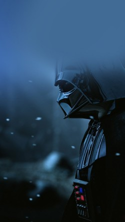 papers.co-ao69-starwars-darth-vader-art-film-blue-33-iphone6-wallpaper