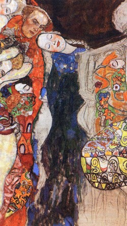 papers.co-ao96-gustav-klimt-paint-art-classic-33-iphone6-wallpaper