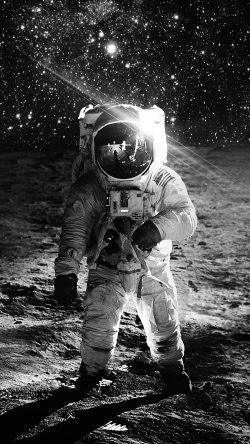 papers.co-ao98-astronaut-space-art-moon-dark-bw-33-iphone6-wallpaper