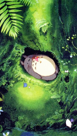 papers.co-ap14-japan-totoro-art-green-anime-illustration-33-iphone6-wallpaper