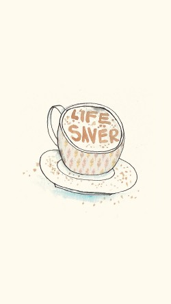 papers.co-ap56-life-saver-coffee-illustration-cute-33-iphone6-wallpaper