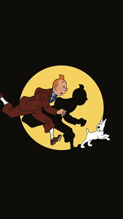 papers.co-ap68-tintin-illustration-art-dark-cute-33-iphone6-wallpaper
