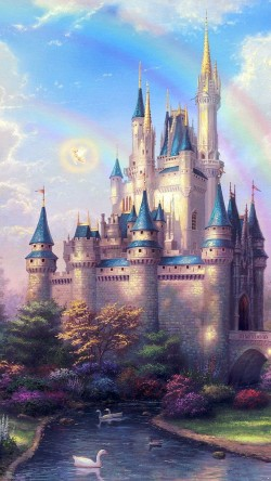 papers.co-ap98-fantasy-castle-illustration-cute-disney-33-iphone6-wallpaper