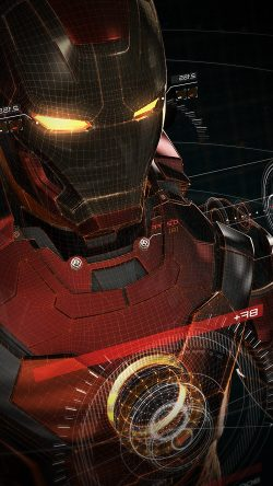 papers.co-aq06-ironman-3d-red-game-avengers-art-illustration-hero-vignette-33-iphone6-wallpaper