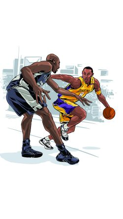 papers.co-aq45-kobe-bryant-ankle-breaker-sports-nba-art-33-iphone6-wallpaper
