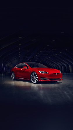 papers.co-aq53-tesla-model-red-car-33-iphone6-wallpaper