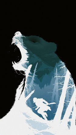 papers.co-ar36-revenant-dicaprio-poster-film-art-bear-dark-33-iphone6-wallpaper
