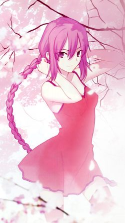 papers.co-ar80-pink-girl-anime-art-illustration-flower-blossom-33-iphone6-wallpaper
