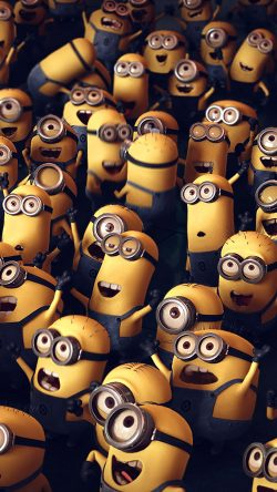papers.co-ar84-minions-despicable-me-cute-yellow-art-illustration-33-iphone6-wallpaper