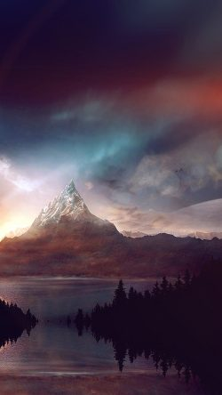 papers.co-ar92-mountain-nature-fantasy-art-illustration-flare-33-iphone6-wallpaper