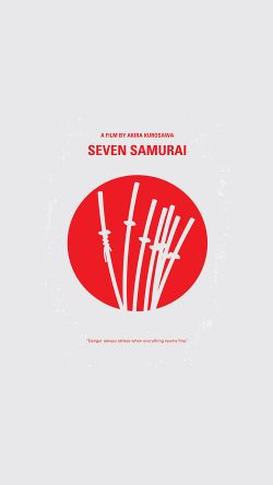 papers.co-as75-seven-samurai-film-minimal-art-illustration-33-iphone6-wallpaper
