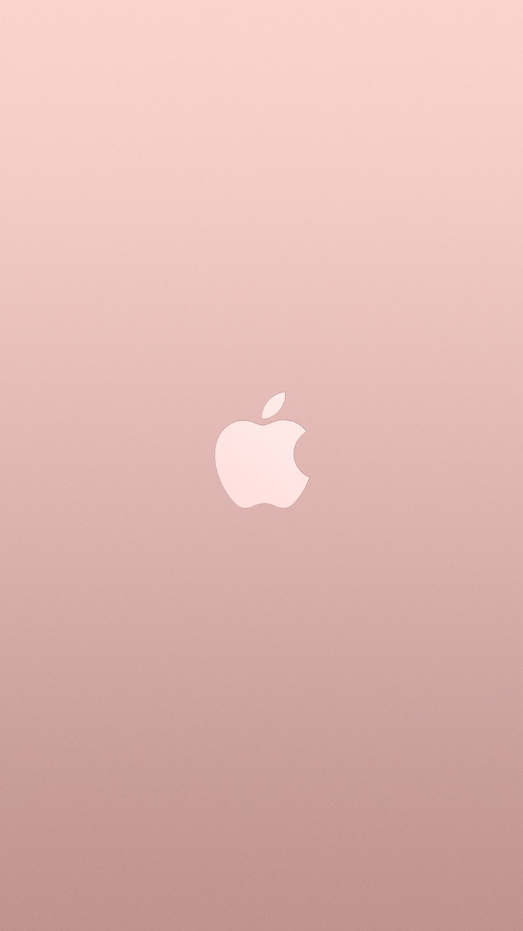 Iphone6papers Com Iphone 6 Wallpaper Au15 Logo Apple Pink Rose