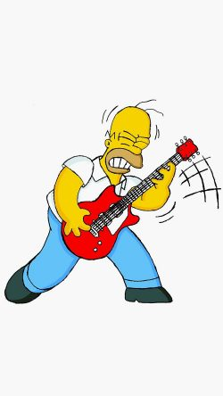 papers.co-au45-homer-simpson-guitar-cartoon-illustration-art-33-iphone6-wallpaper