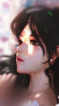 papers.co-au92-liang-xing-daisy-cute-girl-illustration-art-33-iphone6-wallpaper