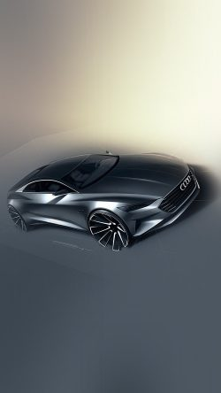 papers.co-av14-audi-concept-car-illustration-art-33-iphone6-wallpaper