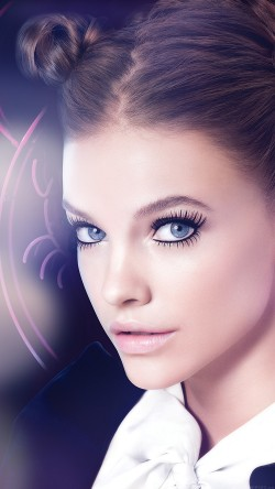 papers.co-he98-barbara-palvin-blue-flare-cute-sexy-model-33-iphone6-wallpaper