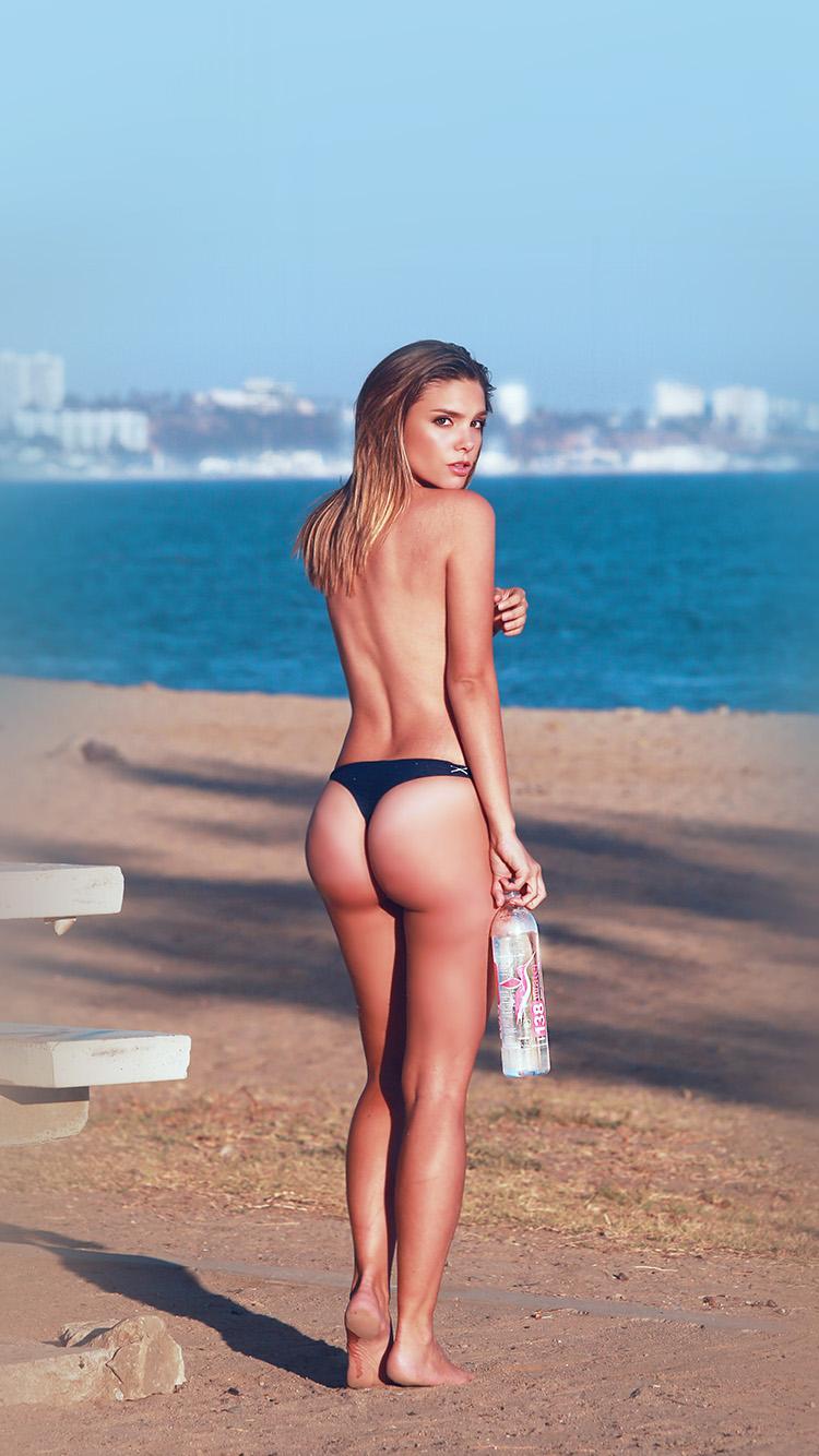 Iphone6papers Hf49 Chelsea Heath Beach Sexy Body Sea
