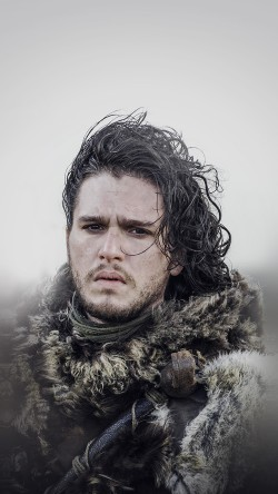 papers.co-hg19-jon-snow-game-of-thrones-film-art-33-iphone6-wallpaper