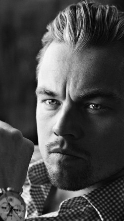 papers.co-hh92-bw-dark-leonardo-dicaprio-watch-33-iphone6-wallpaper